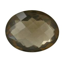 28.19ct Glittering Natural Smoky Quartz (GEM-24149)