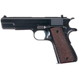 Excellent Pre-War Colt Ace Semi-Automatic Pistol