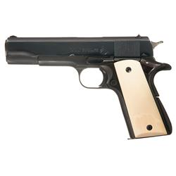 Excellent Post-War Colt Super 38 Semi-Automatic Pistol with Ivory Grips