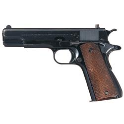 Excellent Pre-War Colt Ace Semi Automatic Pistol