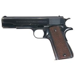 Early First Year Production Colt Super 38 Model Semi-Automatic Pistol with Low Three Digit Serial Nu