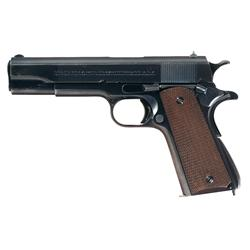 Extraordinary Pre-War Colt Government Model Semi-Automatic Pistol with Factory Letter