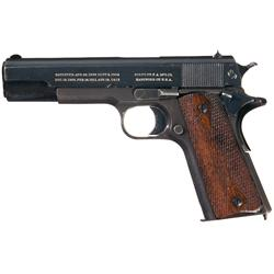 1915 Production Colt Government Model Semi-Automatic Pistol