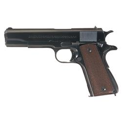Excellent Pre-War Colt Government Model Semi-Automatic Pistol