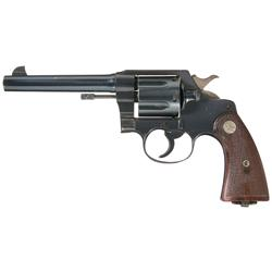 Outstanding Colt New Service Model Double Action Revolver