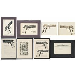 Master Colt Engraver R.J. Kornbrath Historical Documents
