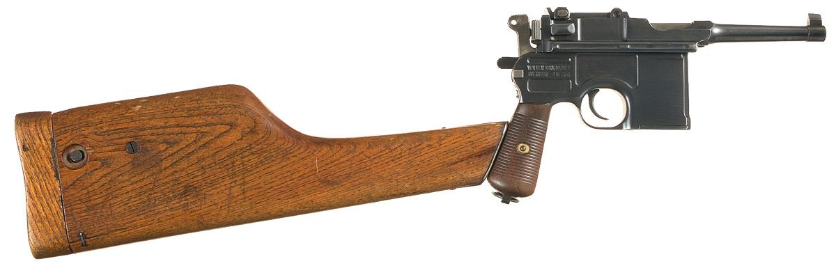A Sweeping History of the Mauser C96 Broomhandle Pistol - Guns.com
