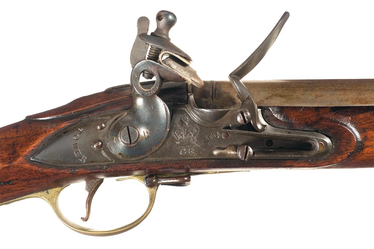 Musket Brown Brown Bess Musket With