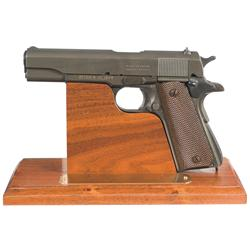 Exceptional  One Of A Kind  U.S. Army Remington-Rand  500,000th  Production M1911A1  Frank J. Atwood