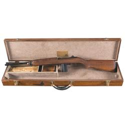 Exceptionally Rare, Outstanding Condition WWII Rock-Ola Factory Presentation M1 Carbine To  Mr. H. V