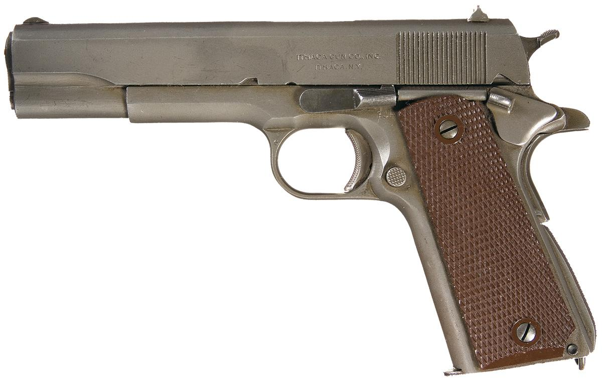 Wwii U S Army Contract M1911a1 Pistol Made By The Ithaca