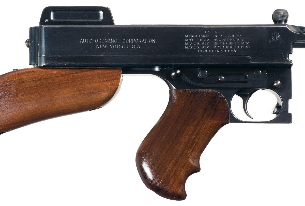 Things You Didn't Know About The Thompson Submachine Gun - Tommy Gun