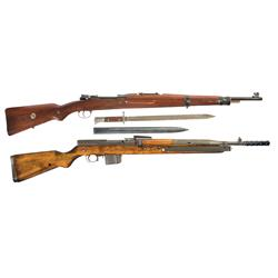 Collector's Lot of Two Rare Czech Rifles -A) Excellent and Rare Czech VZ25 Mauser Bolt Action Rifle