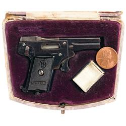 Scarce Kolibri Miniature Pistol with Original Case