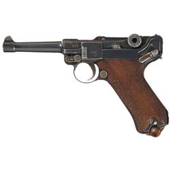 Desireable Erfurt 1913 Dated Military Luger Pistol