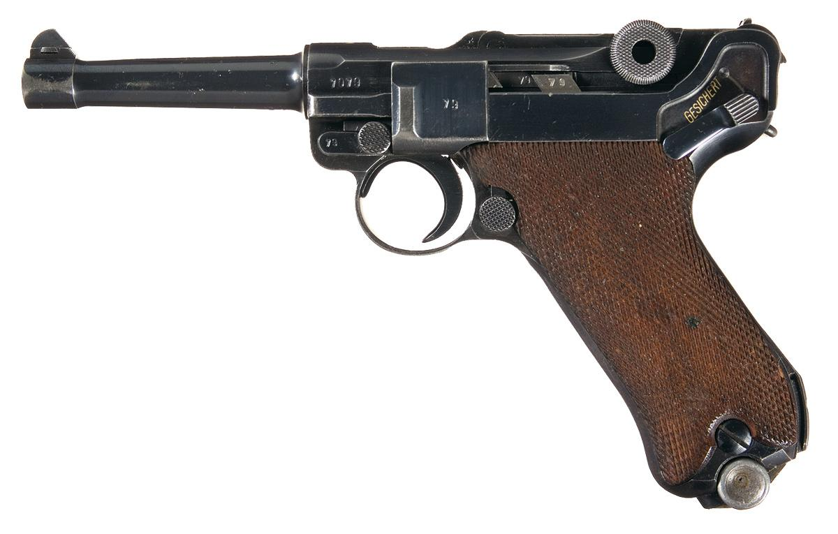 Dating luger pistols