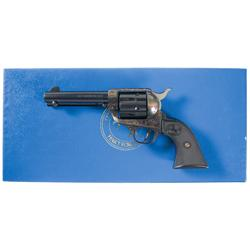 Colt Cowboy Single Action Revolver with Original Box