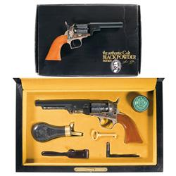 Two Colt Black Powder Series Revolvers -A) Colt Black Powder Series Model Baby Dragoon Revolver with