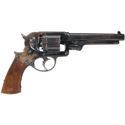 Martially Inspected U.S. Starr Arms Model 1858 Civil War Double Action Army Revolver