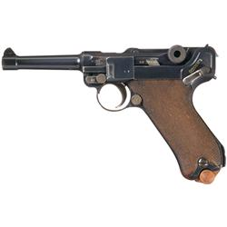 DWM 1915 Dated Luger Military Pistol