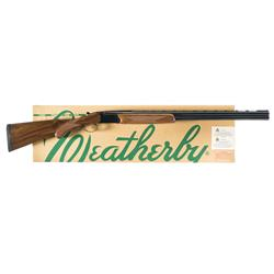 Weatherby Orion Upland Over Under Shotgun with Box
