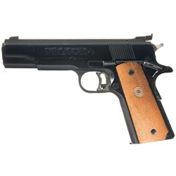 Colt MK IV Series 70 Model Gold Cup National Match Semi Automatic Pistol