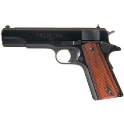 Colt Government Model MK IV Series 80 Semi Automatic Pistol