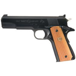 Excellent Post War Colt Ace Model Semi Automatic Pistol