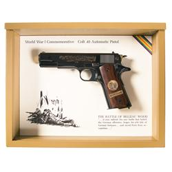 Cased Colt WWI Commemorative Model 1911A1 Belleau Wood Semi-Automatic Pistol