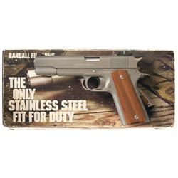 Randall Left Hand Configured Service Model Semi-Automatic Pistol with Box and Factory Letter