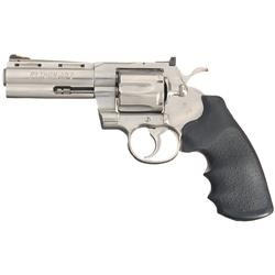 Stainless Steel Colt Python Double Action Revolver