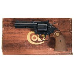 Excellent Colt Diamondback Double Action Revolver with Original Box