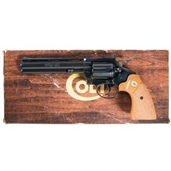 Colt Diamondback Double Action Revolver with Box