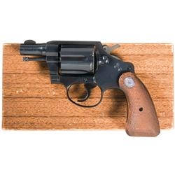 Colt Detective Special Revolver in Rare 32 Caliber with Box