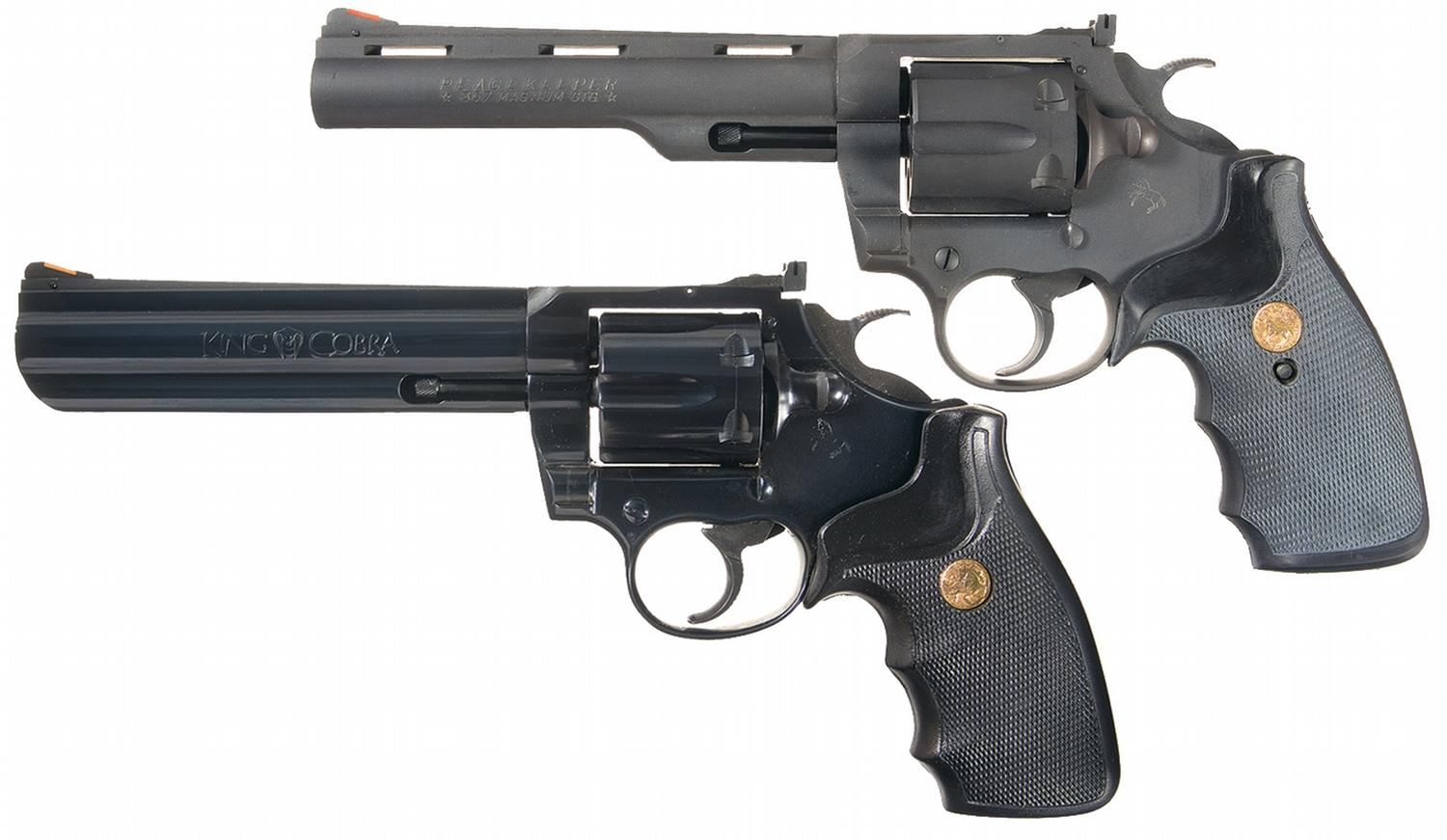 Two Colt Revolvers -A) Scarce Colt Peacekeeper Double ...