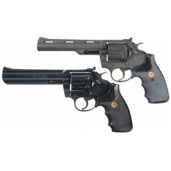Two Colt Revolvers -A) Scarce Colt Peacekeeper Double Action Revolver   B) Colt King Cobra Model