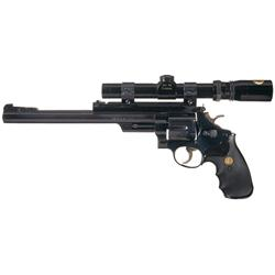 Scoped Smith & Wesson Model 29-3 Double Action Revolver