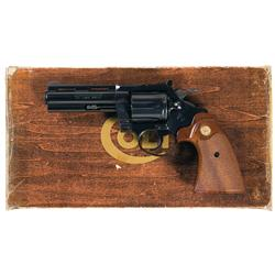 Colt Diamondback Double Action Revolver with Original Box