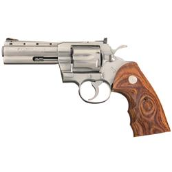 Colt Python Elite Stainless Steel Double Action Revolver
