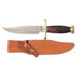 Custom Randall Made/ Nordic Knives Bowie Knife with Sheath