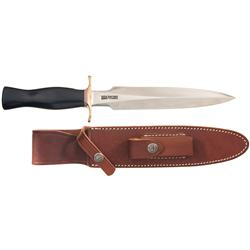 Randall Dagger with Sheath and Chris Reeve Bowie Knife with Sheath