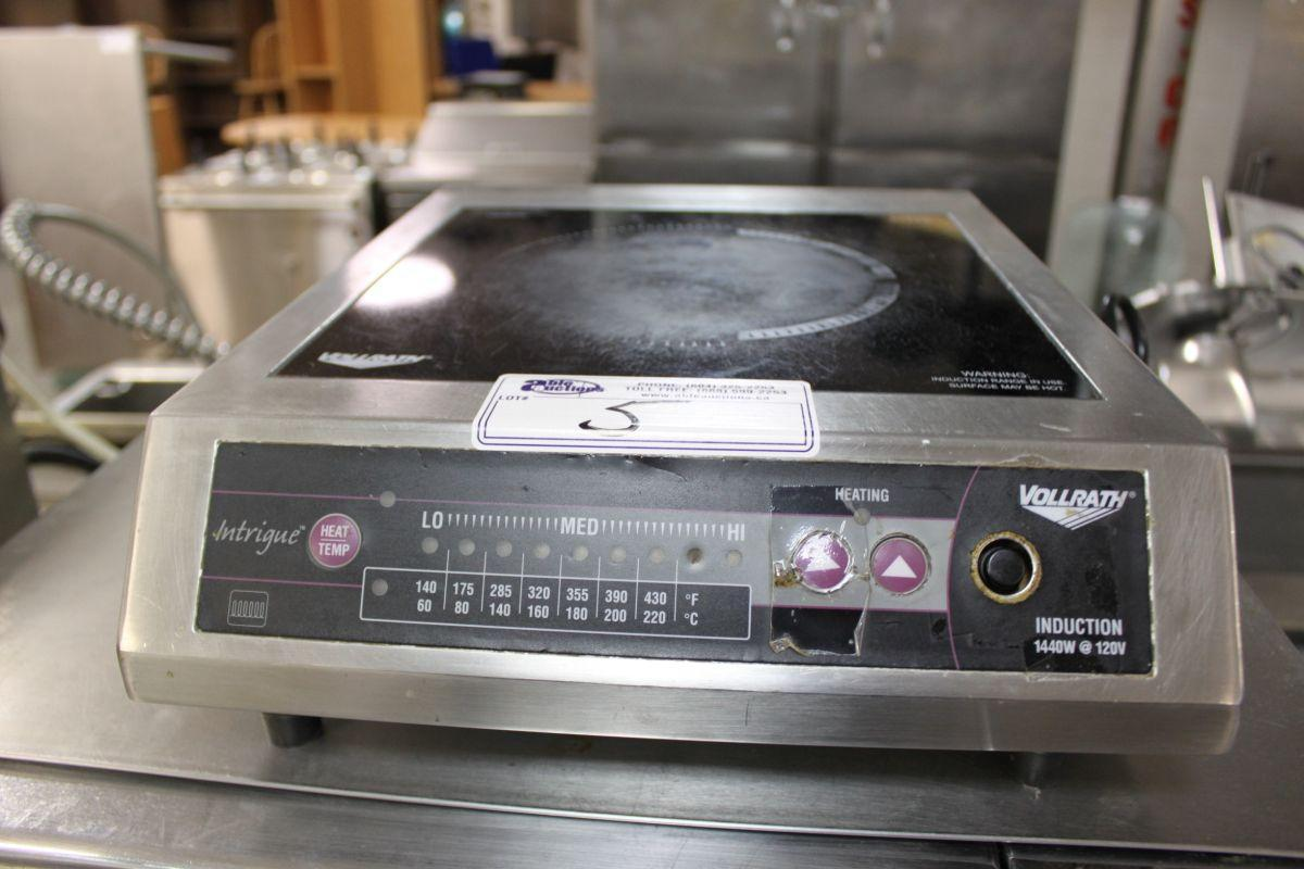 Vollrath Induction Cooker ~ Vollrath intrigue electric induction cooker