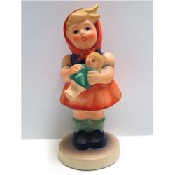 Hummel Girl With Doll Figurine