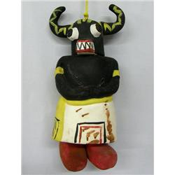 Pottery Ogre Kachina Wind Chime By Terry Lloyds
