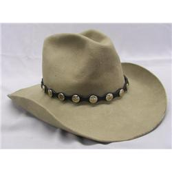 Vintage Stetson Cowboy Hat Texas Star Hat Band