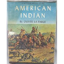 BK Pictorial History American Indian By O LaFarge