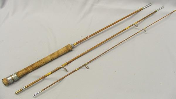 Japanese vintage 39 39 grampus 39 39 cane fly fishing rod for Vintage fishing rods