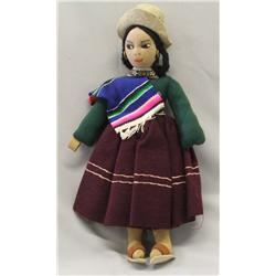 Vintage Peruvian Indian Doll