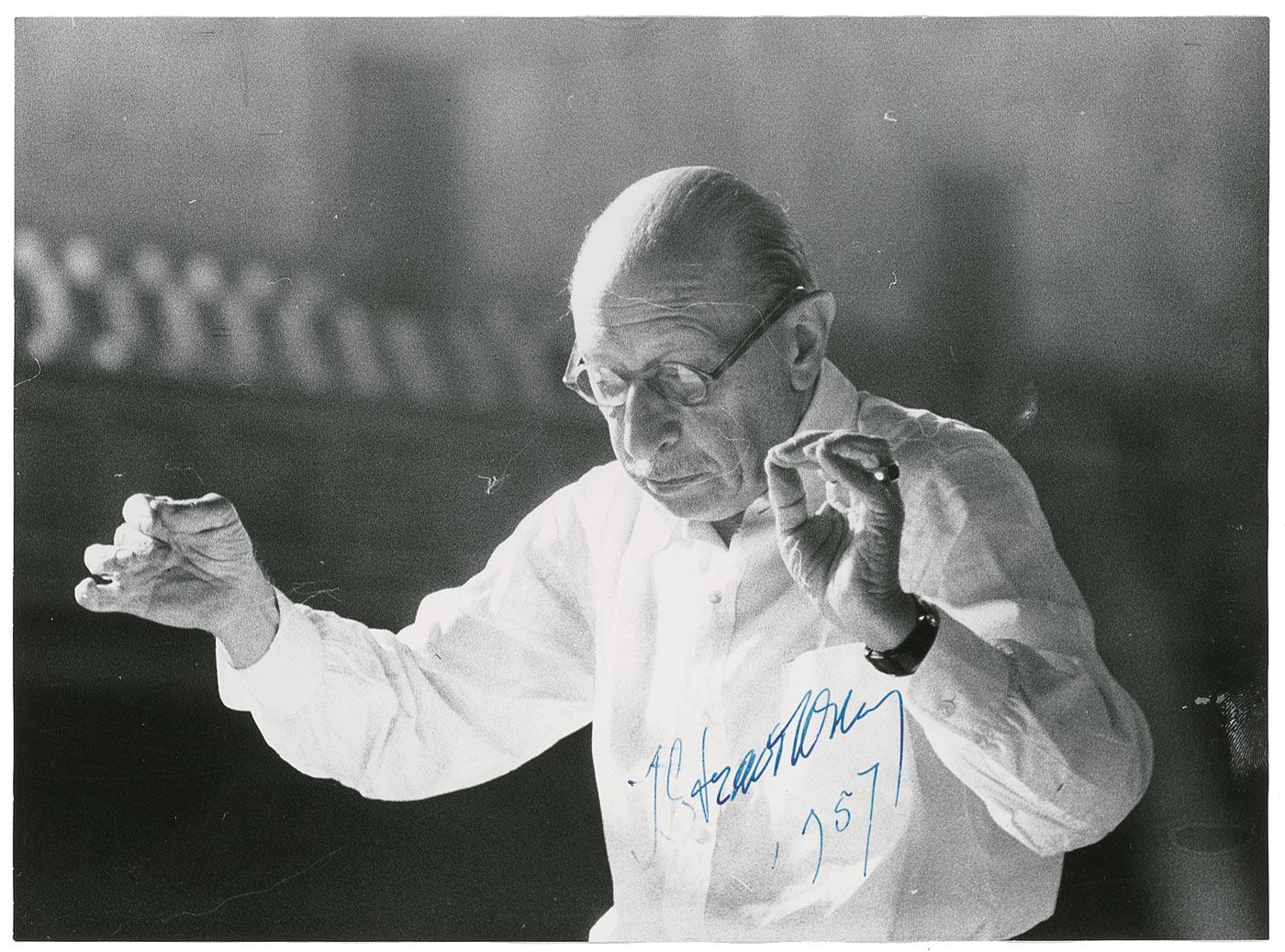 igor stravinsky conductor essay In the passage, composer igor stravinsky describes orchestra conductors by using rhetorical devices and detailed language to convey his feelings on the subject he is.