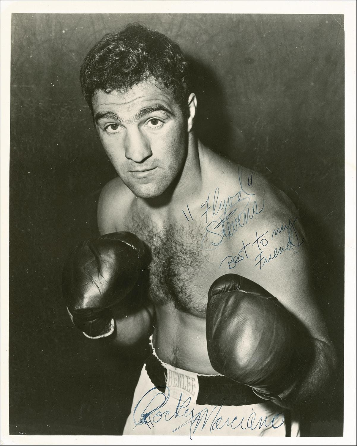Boxer Marciano Rocky: biography and photos 70